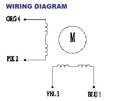 Stepper Motor Phase Wire Uln Driver Board For