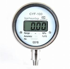 China Digital Pressure Gauge  Cyf-100