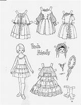 Paper Freda Dolls Friend Children Coloring Doll Sheets Printable 1962 Friendly Adult Picasaweb Google sketch template