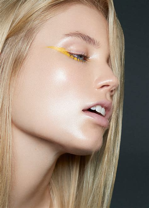 rise beauty editorial  laud magazine lesya kostiv