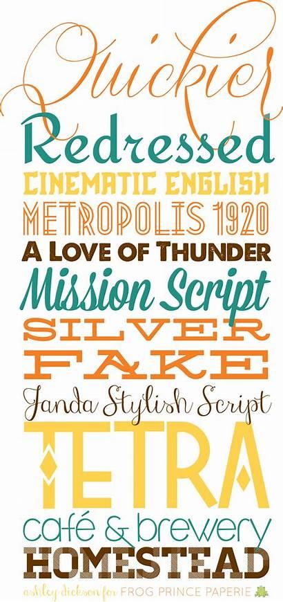 Fonts Fall Typography Tiny Script Bit Prince