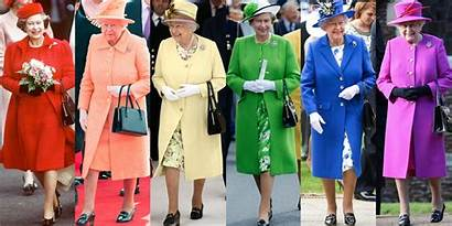Queen Elizabeth Wear Clothes Does Than Once