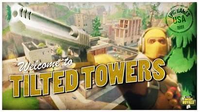 Fortnite Tilted Towers Raptor Royale Battle 1080p