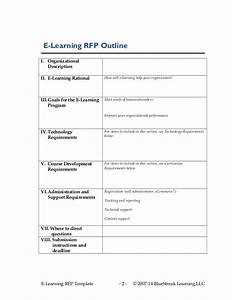 cets 2014 devries elearning strategy rfp template With rfp requirements template