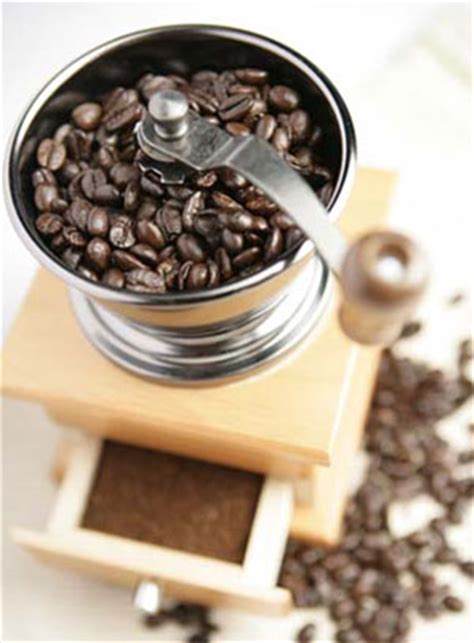After the beans have been roasted, they outgas carbon dioxide for about 72 hours. Using coffee bean grinder
