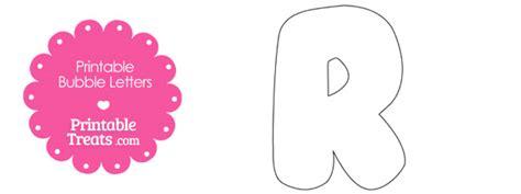 printable bubble letter  template printable treatscom