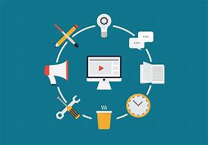 Webinar Digital Business Vector Illustration