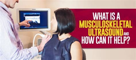 What is a Musculoskeletal ultrasound and How Can It Help ...