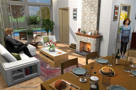 sweet home  draw floor plans  arrange furniture freely