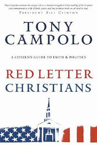 book review red letter christians by tony campolo With red letter christian book