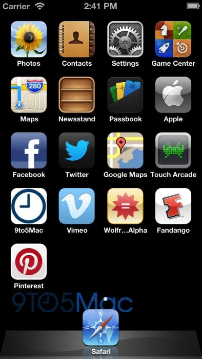 how to take a screenshot on iphone 5 iphone 5 s possible ui shown in ios 6 screenshot