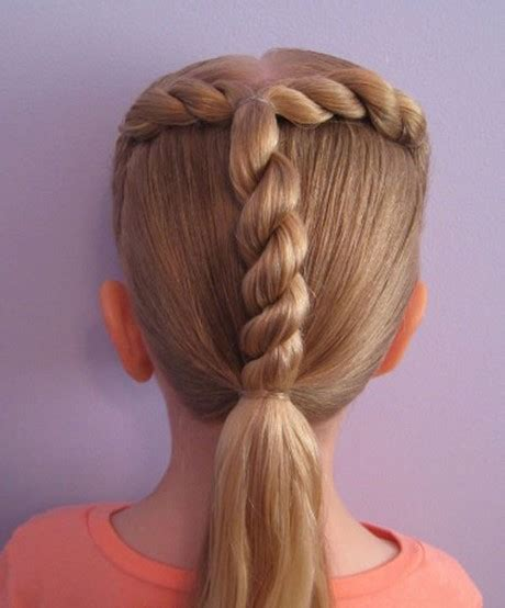 Easy Kid Hairstyles by Cool Easy Hairstyles For