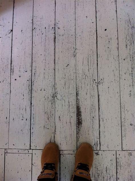 rustic white washed floor boards diy flooring painted