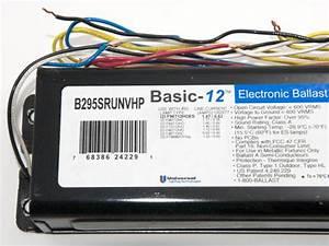 Universal 120 Ho Electronic Ballast