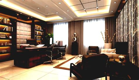 executive office home design ceo office modern style interior Luxury