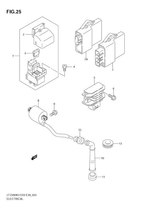 2008 King 450 Wiring Diagram by Help 2004 Z 400 Clicks When Trying To Start Suzuki Z400