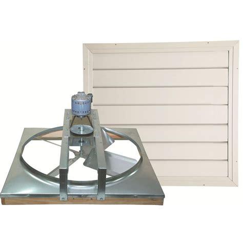 24 whole house attic fan cool attic 24 in belt drive whole house fan with shutter