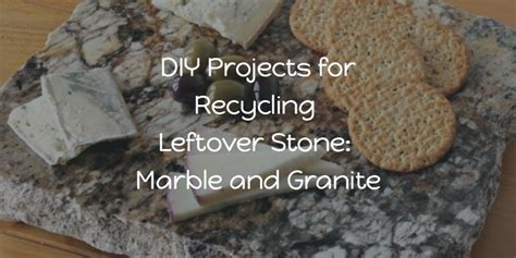 diy projects for recycling leftover marble and