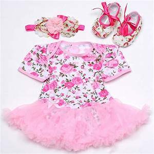 Aliexpress.com : Buy Newborn Baby Girl Summer Clothes ...