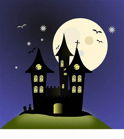 Night Nacht Gute Moon Pixabay Halloween Moonlight