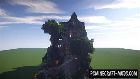 fantasymedieval plot map  minecraft