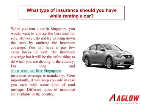 What Type Of Insurance Should You Have While Renting A Car