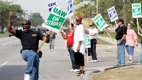 uaw national strike  gm bucks  history