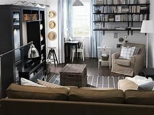 Ikea Wohnzimmer Schrankwand : 25 wohnzimmer design ideen von ikea ~ Michelbontemps.com Haus und Dekorationen