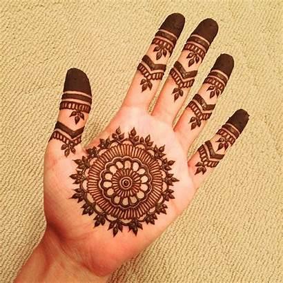 Mehndi Simple Designs Hand Easy Henna Hands