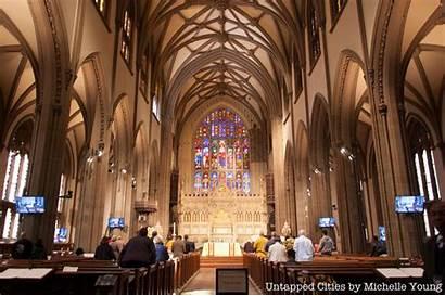 Trinity Church Nyc York Manhattan Street Broadway