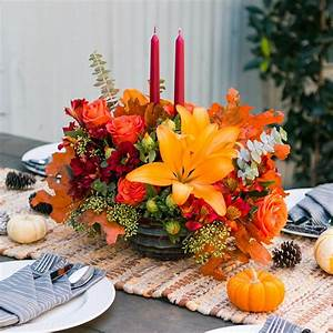Gather, U0026, 39, Round, This, Perfectly, Pretty, Thanksgiving, Floral, Centerpiece, That, U0026, 39, S, Sure, To, Wow, E