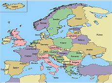Map Europe Zoom in on Norway Zoom out on world Countries