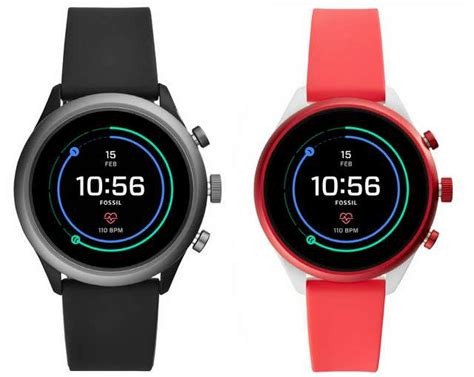 fossil sport smartwatch with curved screen snapdragon wear 3100 announced ccnworldtech