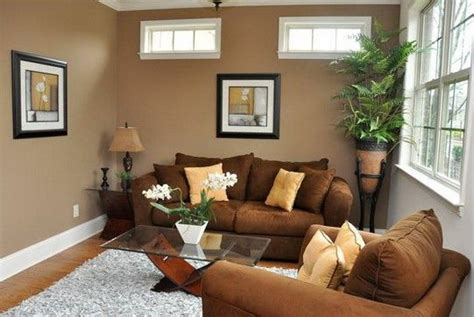 wall colors for small rooms to make it spacious brown