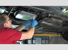 Part 1 Changing Automatic Transmission Fluid & Filter On
