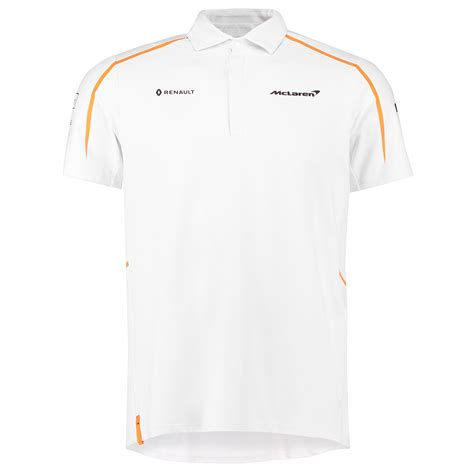 official mclaren  team polo shirt tee top collared