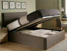 Queen Platform Bed Drawers And Headboard