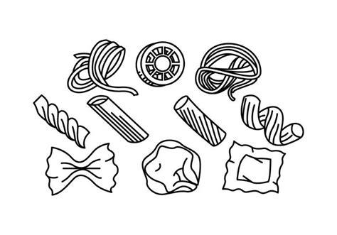 cuisine pasta free pasta line icon vector free vector