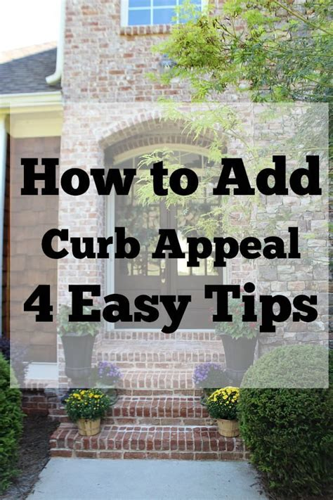 How To Add Curb Appeal  Refresh Restyle