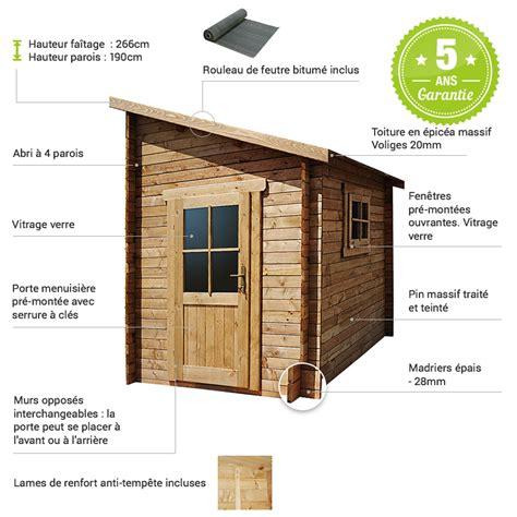 abri de jardin adosse abri adoss 233 5 92m 178 plus madriers 28mm trait 233 s marron gardy shelter
