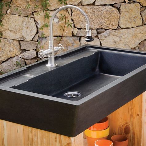 Salus Potting Sink  Stone Forest