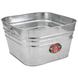 Rectangle Galvanized Tub by Square Dipped Steel Tub Bathroom Galvanized Tub