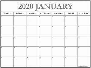 2020 Calendar Template In Excel Images 807