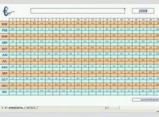Calendario Excel 2010 Descargar Gratis