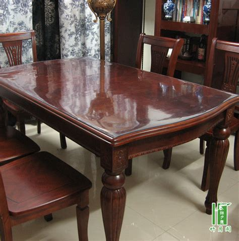 Glass Cover For Dining Table by Dining Table Cover Pad In Dining Room Table Covers Depot