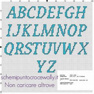 Schemi Punto Croce Di Alfabeti E Iniziali Waltograph