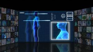 CG Video Montage Of Futuristic Motion Graphics Medical ...