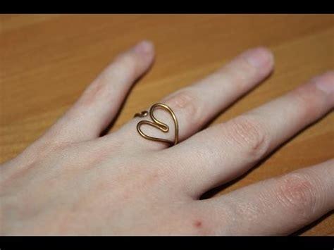Cómo hacer un anillo en forma de corazón facilisimo com
