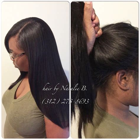 Sew In Ponytail Hairstyles by Pull Your Sew In Into A High Ponytail Versatile And
