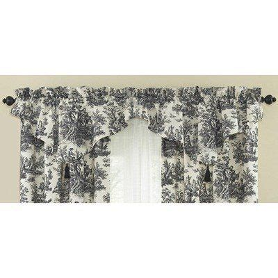 20 Inch Valance Curtains by Waverly Country 52 Inch By 20 Inch Window Valance